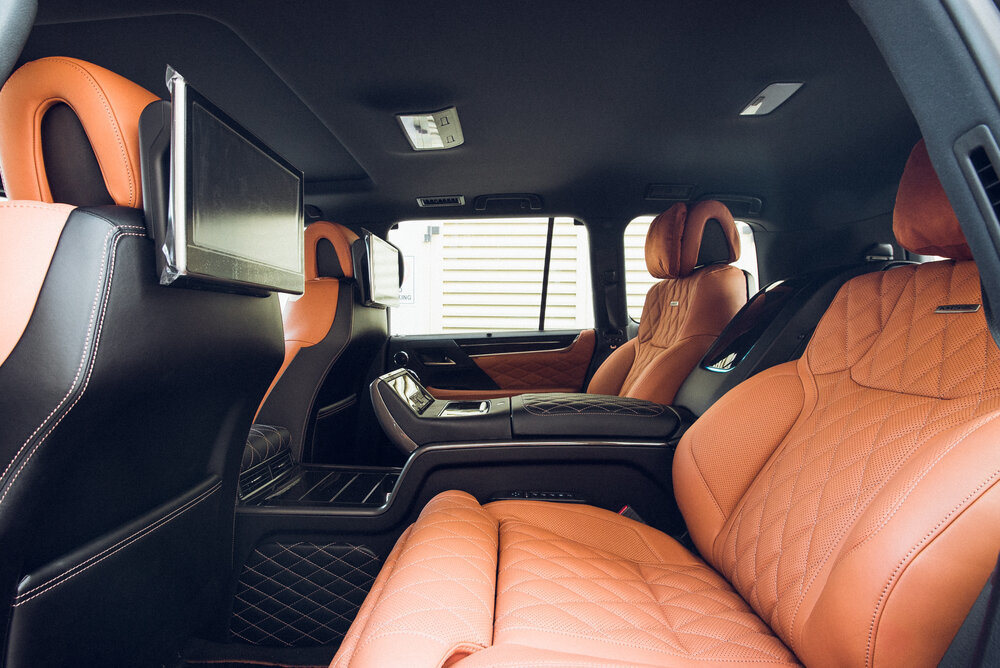 MBS Rear Smart Seats for Lexus LX570 new style