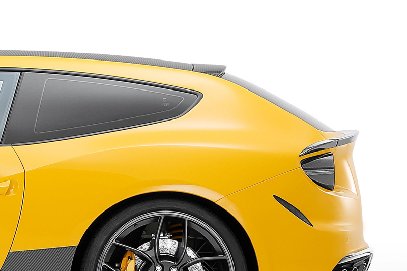 Hodoor Performance Carbon fiber roof spoiler Novitec Style for Ferrari FF