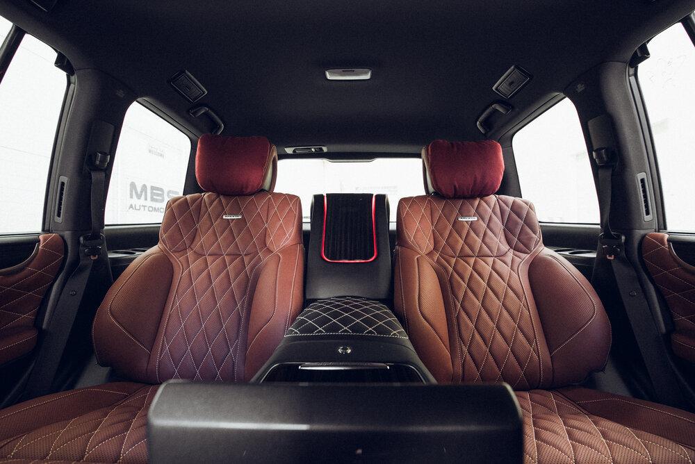 MBS Rear Smart Seats for Lexus LX570 new style latest model