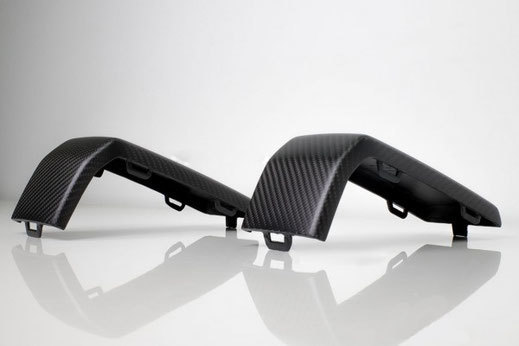 Hodoor Performance Carbon fiber  fangs front and rear bumpers Mercedes G-class W463A