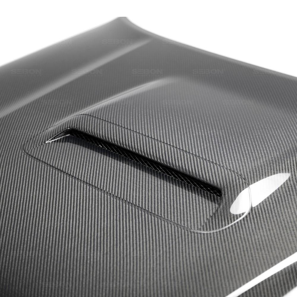 SEIBON TR-STYLE CARBON FIBER HOOD FOR  TOYOTA 4RUNNER new model