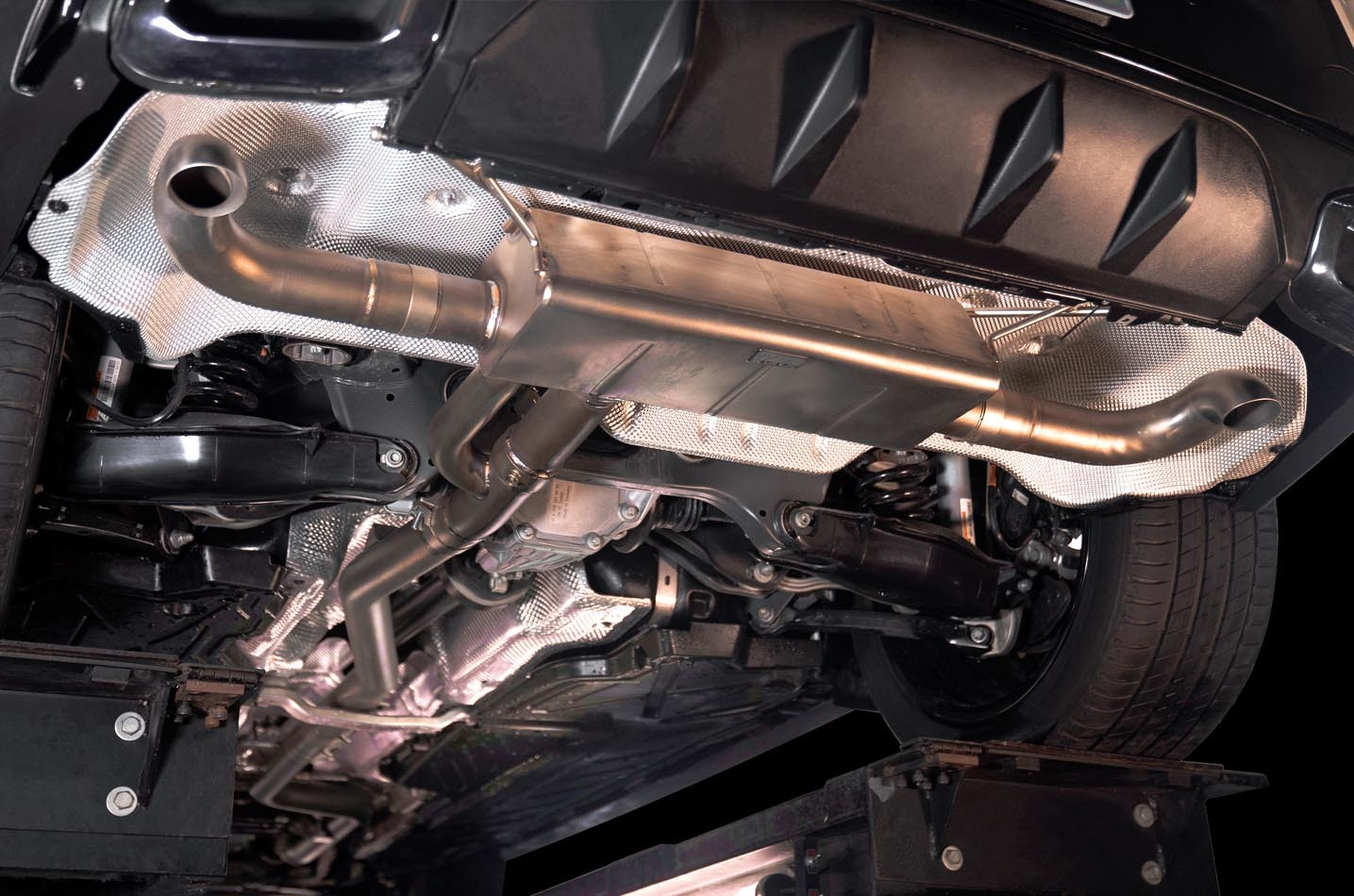 IPE exhaust system for Mercedes-Benz GLC250 / GLC300 (X253/C253) 2020 facelift