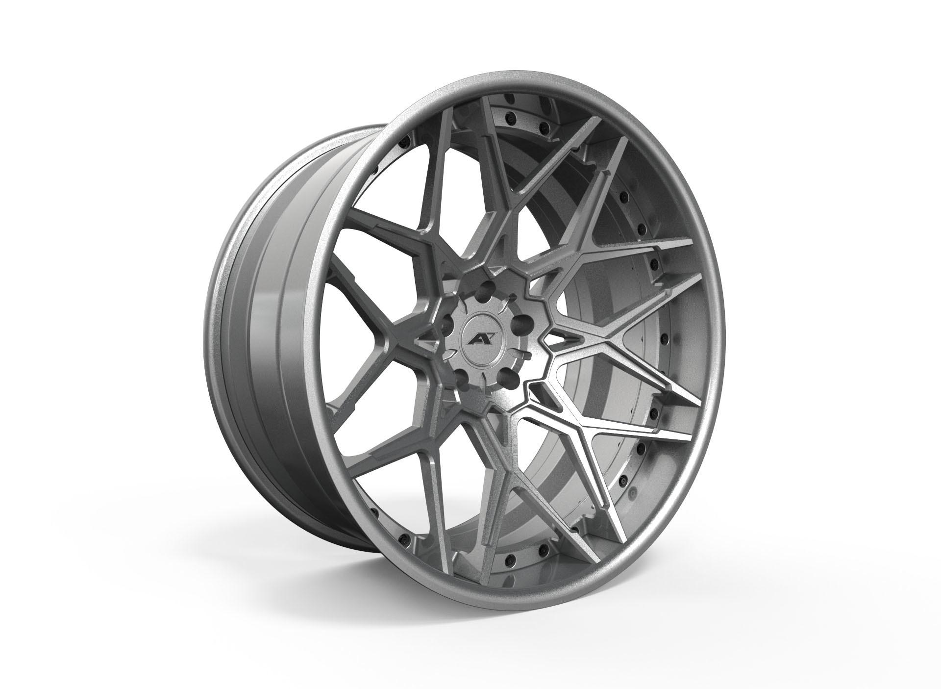 AMP Forged Wheels AMP 8M-3P FLAT LIP