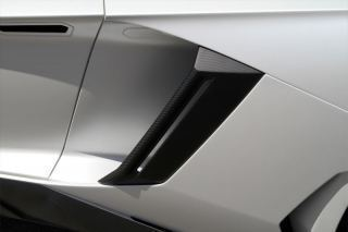 Hodoor Performance Carbon fiber side air intakes Novitec Style for Lamborghini Aventador