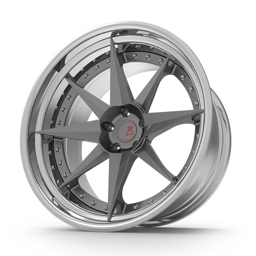 SevenK KOMPAS forged wheels