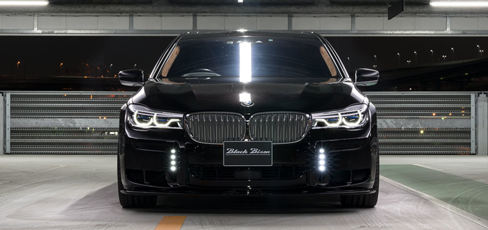 WALD Black Bison body kit for BMW 7 Series G12 new style
