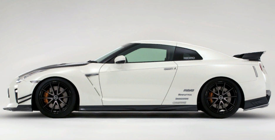 Varis Body Kit  for NISSAN R35 GT-R '17 new style