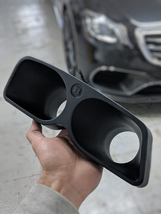 Hodoor Performance Carbon fiber Front bumper spoiler for Mercedes S63 AMG W222