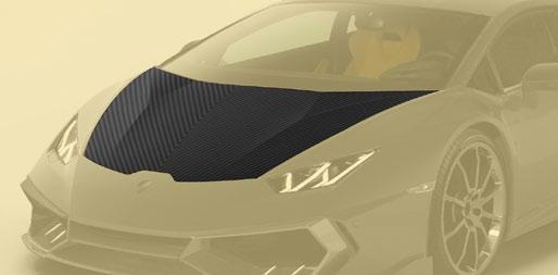 Hodoor Performance Carbon fiber hood Mansory Style for Lamborghini Huracan