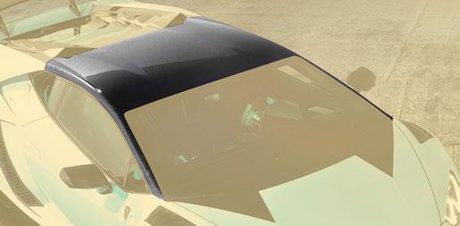 Hodoor Performance Carbon fiber roof Mansory Style for Lamborghini Huracan
