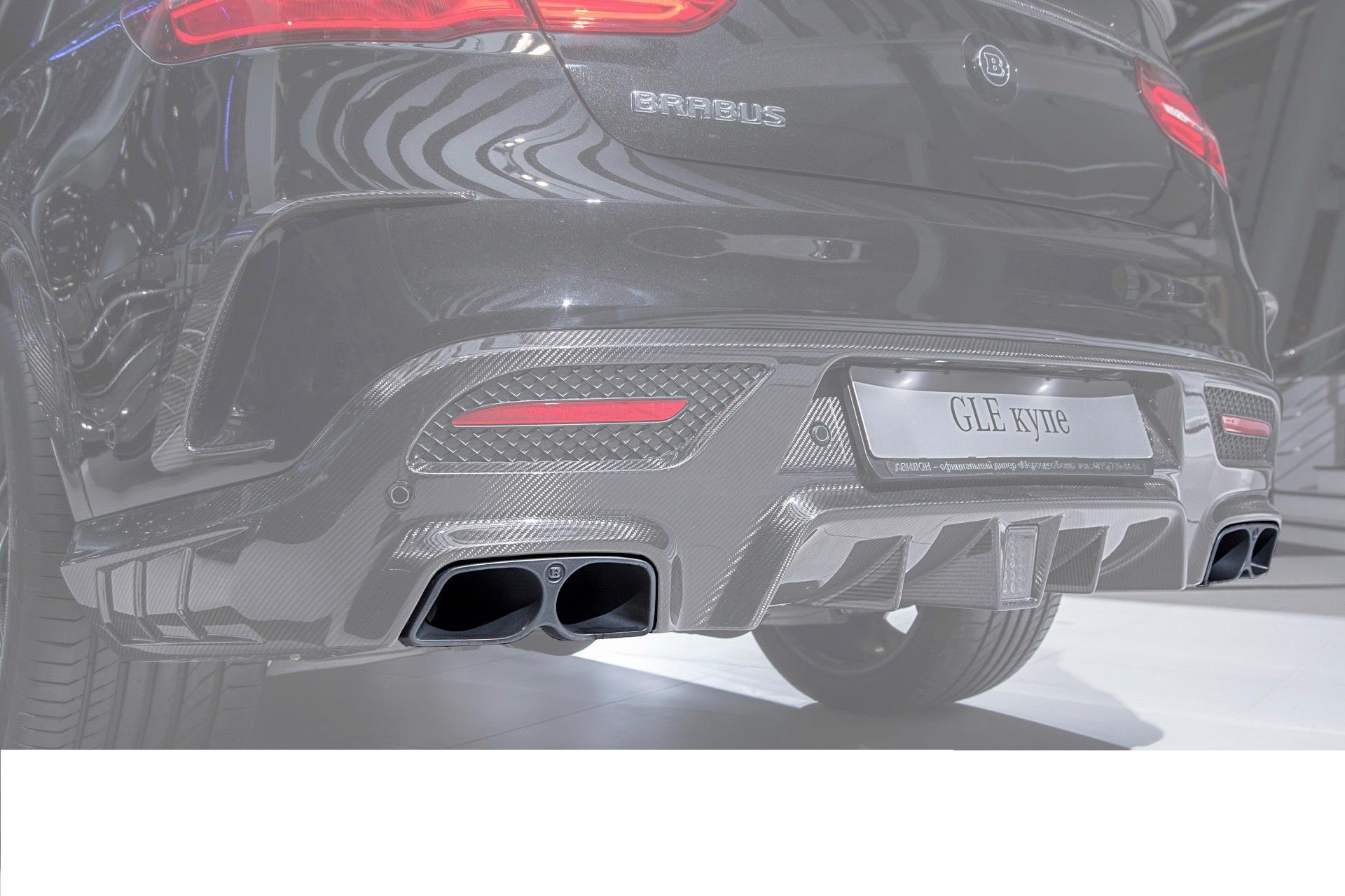 Hodoor Performance Carbon fiber nozzles Brabus Style for Mercedes E-class W212