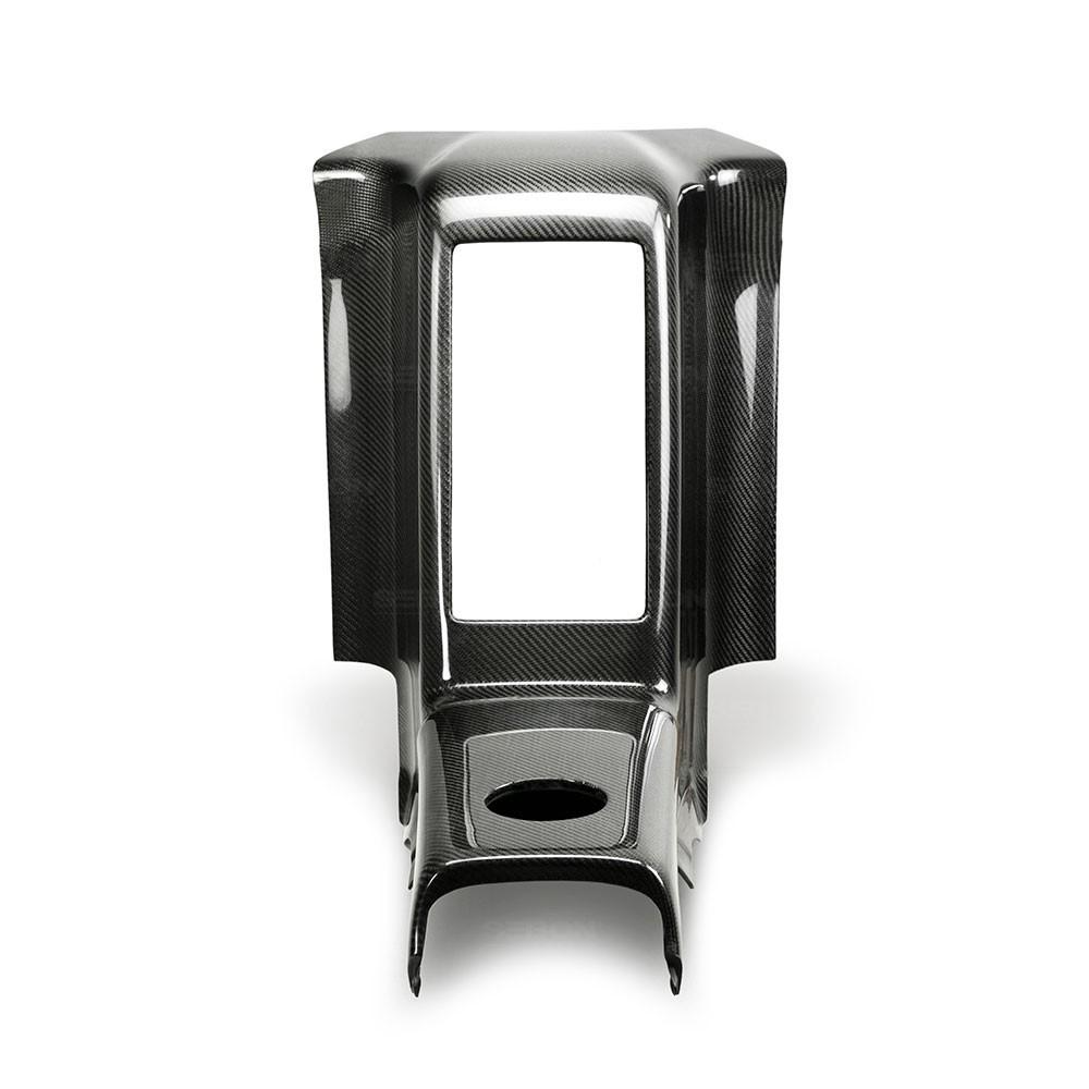 SEIBON CARBON FIBER REAR CENTER CONSOLE FOR  NISSAN GT-R new style