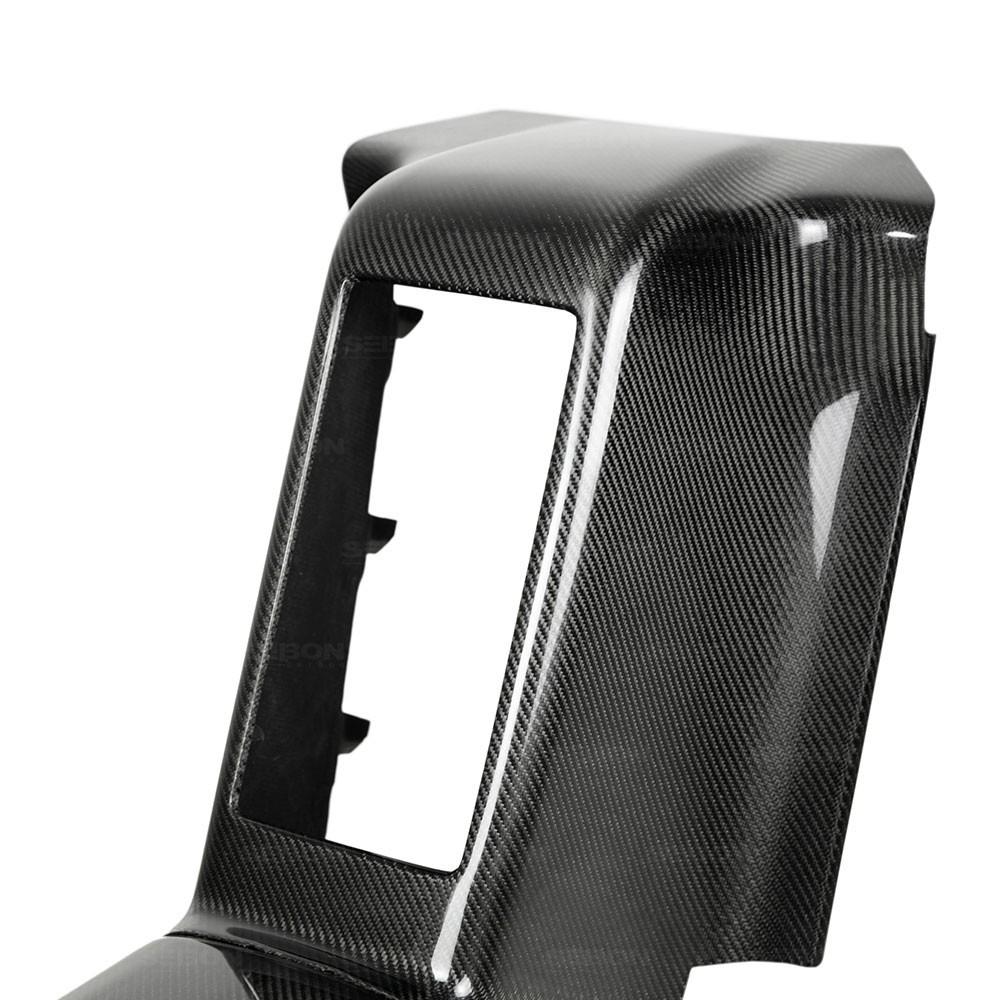 SEIBON CARBON FIBER REAR CENTER CONSOLE FOR NISSAN GT-R latest model