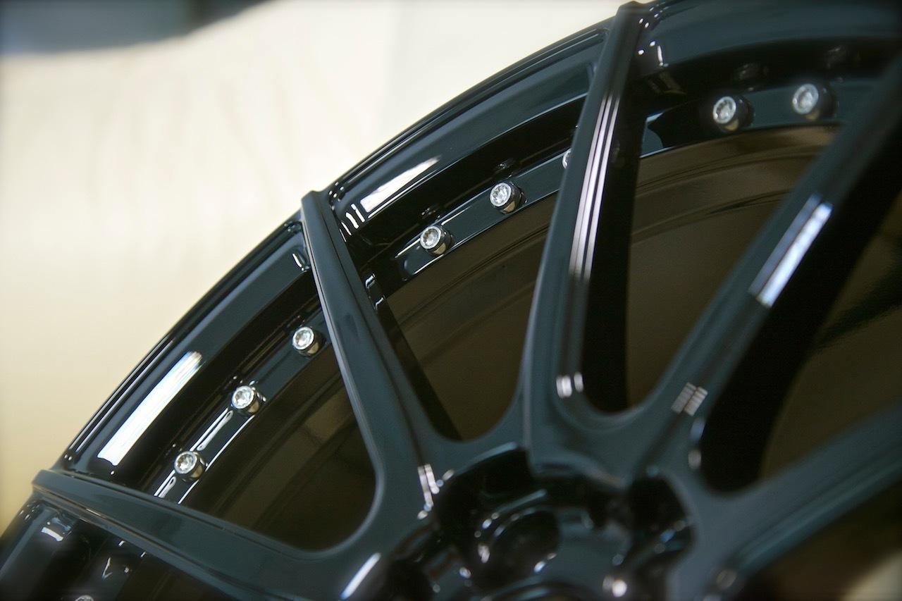 Beneventi V10.2 forged wheels