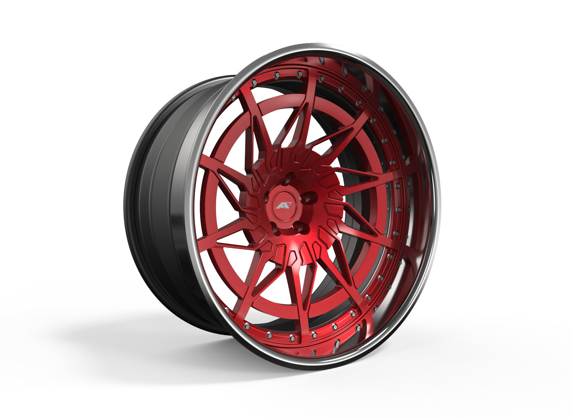 AMP Forged Wheels AMP 10PT-3P FLAT LIP