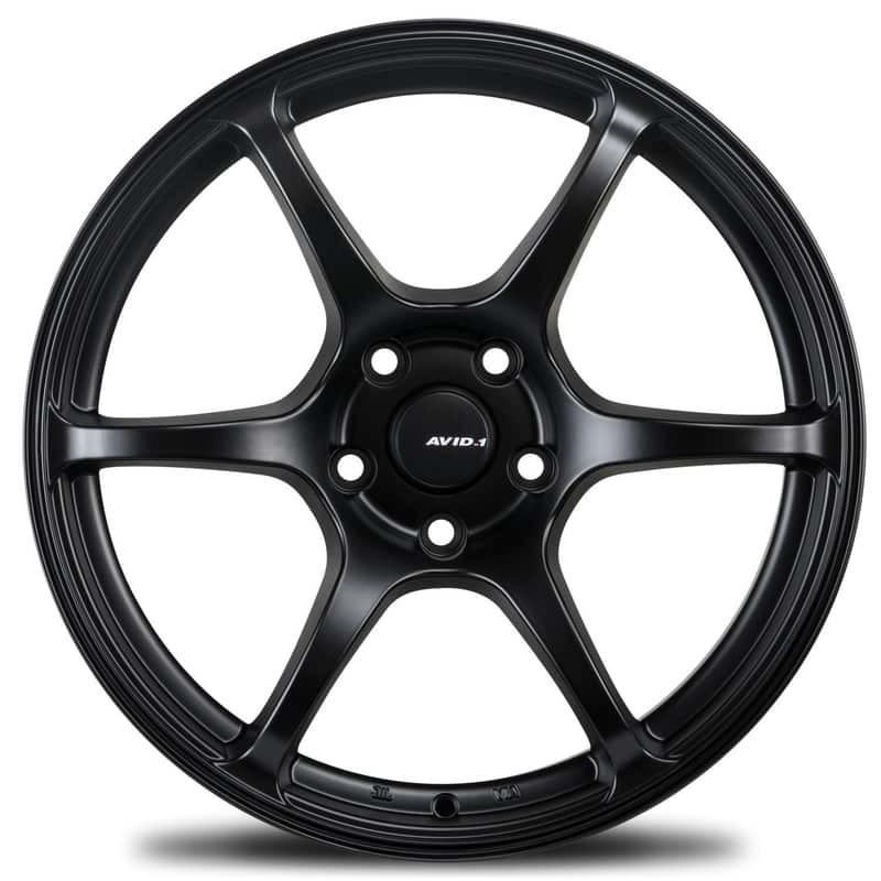 AVID1 AV.26 Matte Black light alloy wheels
